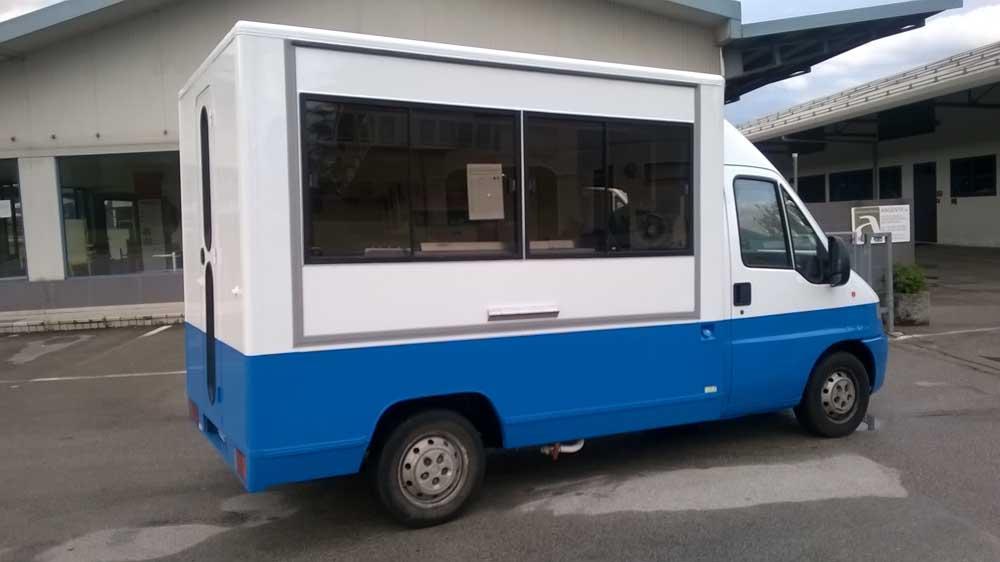furgone gelato usato riparazione