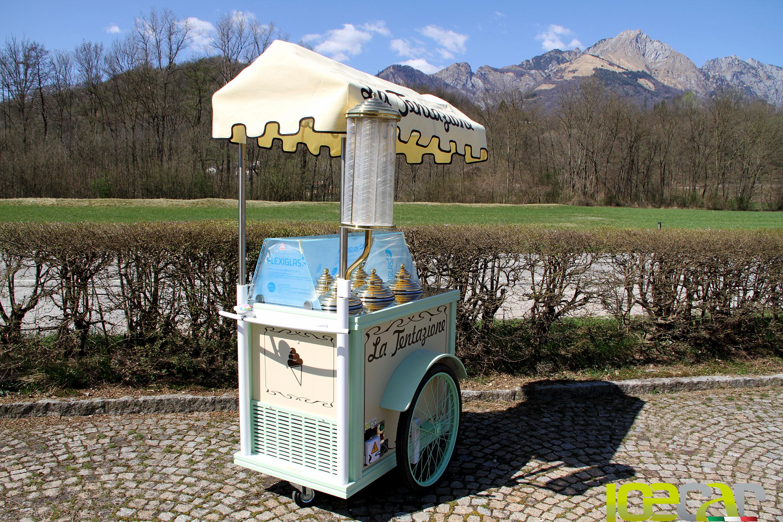 carrettino per gelato