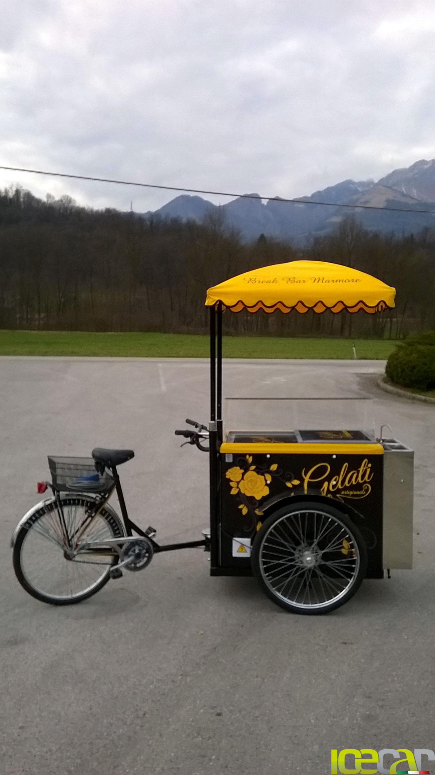 triciclo per gelato