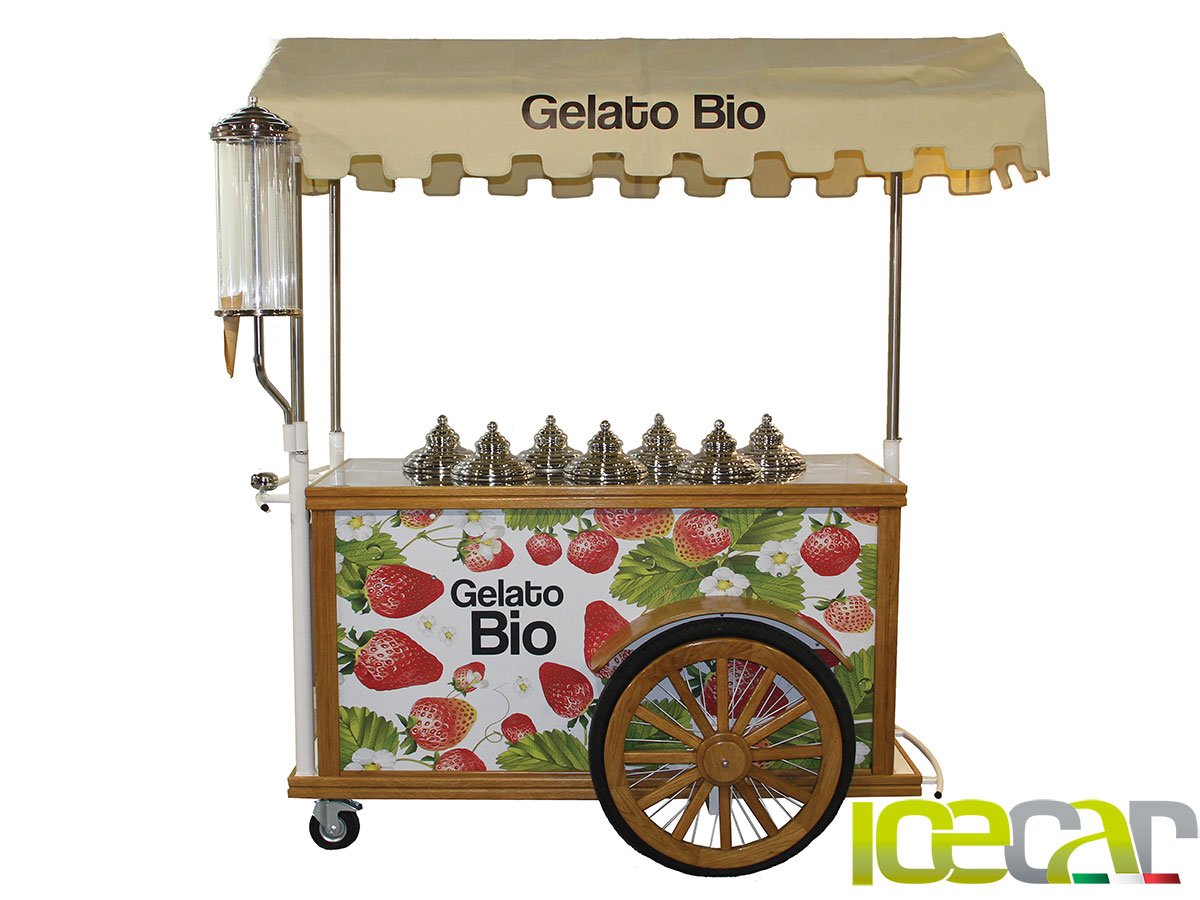 Carrettino Gelato Bio Naturale