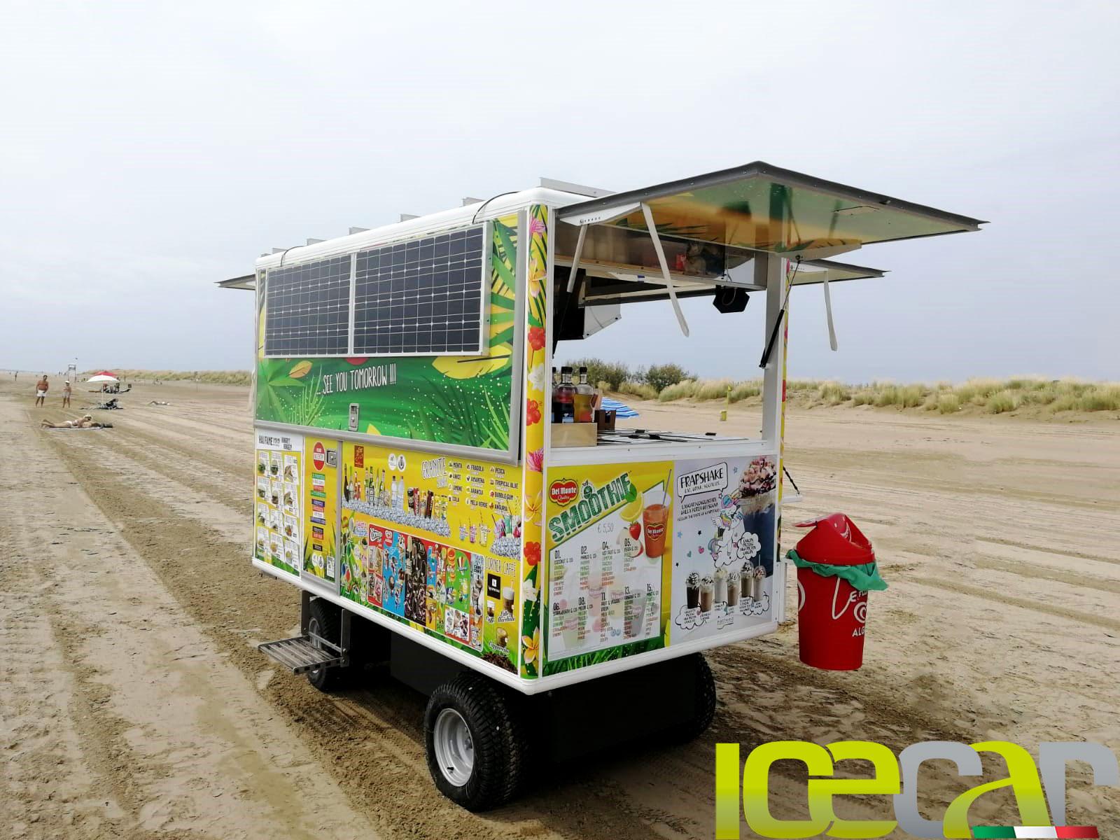 Carro spiaggia elettrico